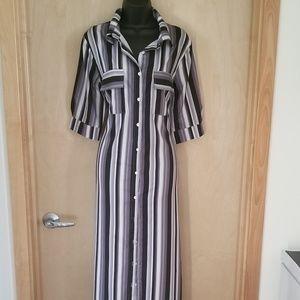 Dresses & Skirts - Stripped Boho Maxi Dress